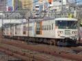 185系200番台OM03編成「水上90号」(鶯谷駅)