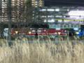 新鶴見信号場で一夜を明かす、名古屋鉄道デキ120形