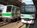 東京メトロ6000系6119F&東京メトロ209系1000番台マト81編成(代々木上原駅)
