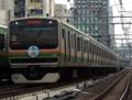 上野東京ラインE231系0番台U507編成「3528E列車」(御徒町駅)