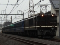 EF64-1001+12系5B+EF65-501「ELみなかみ号」(北本~桶川)