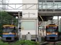 東急こどもの国線Y003編成「181運用」&Y001編成「186運用」(恩田駅)