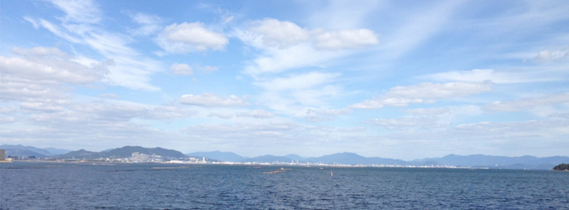 瀬戸内海 厳島沖