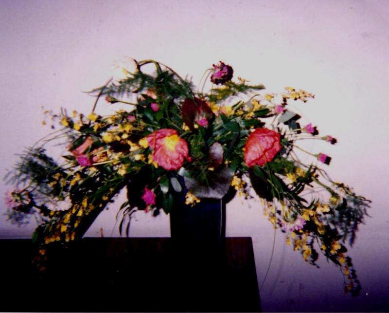 フリーセントデコラティーフ春の花