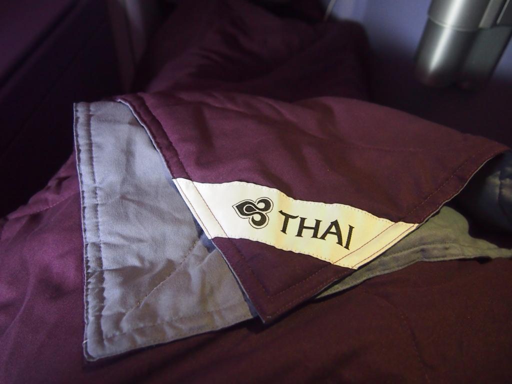 タイ国際航空_ブランケット