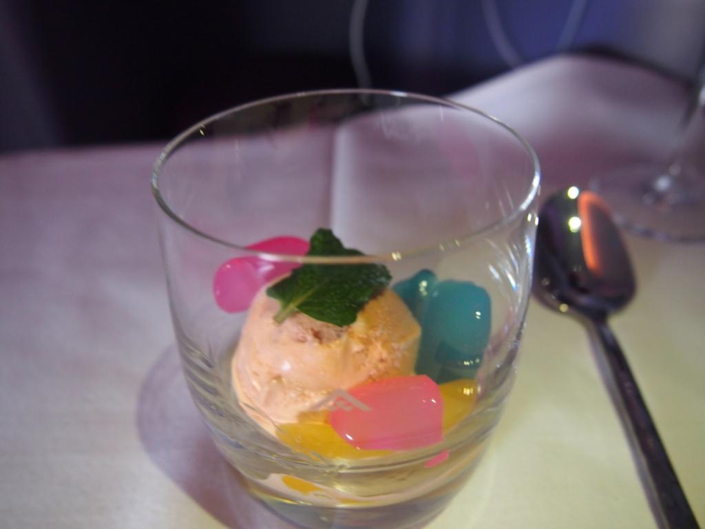 タイ国際航空_機内食_アイス
