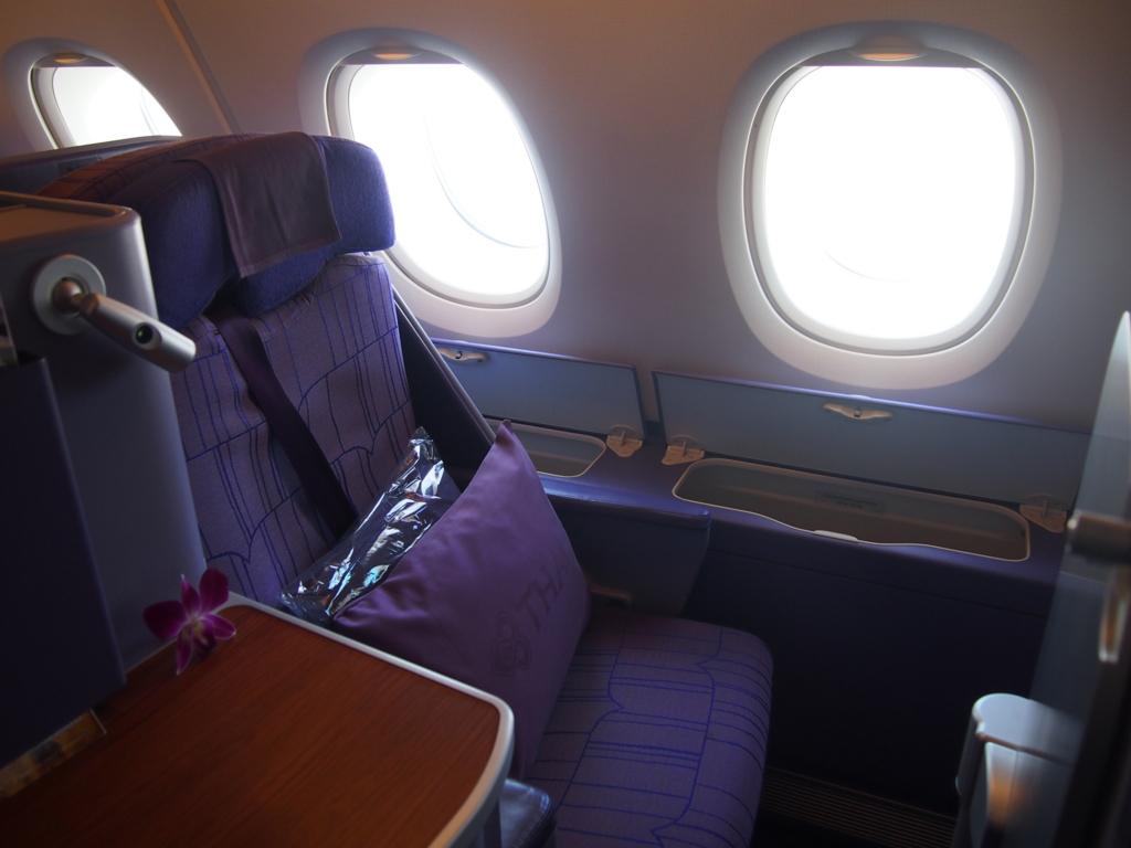 タイ国際航空_ビジネスシート