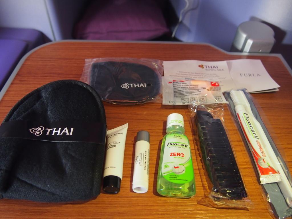 タイ国際航空_アメニティ