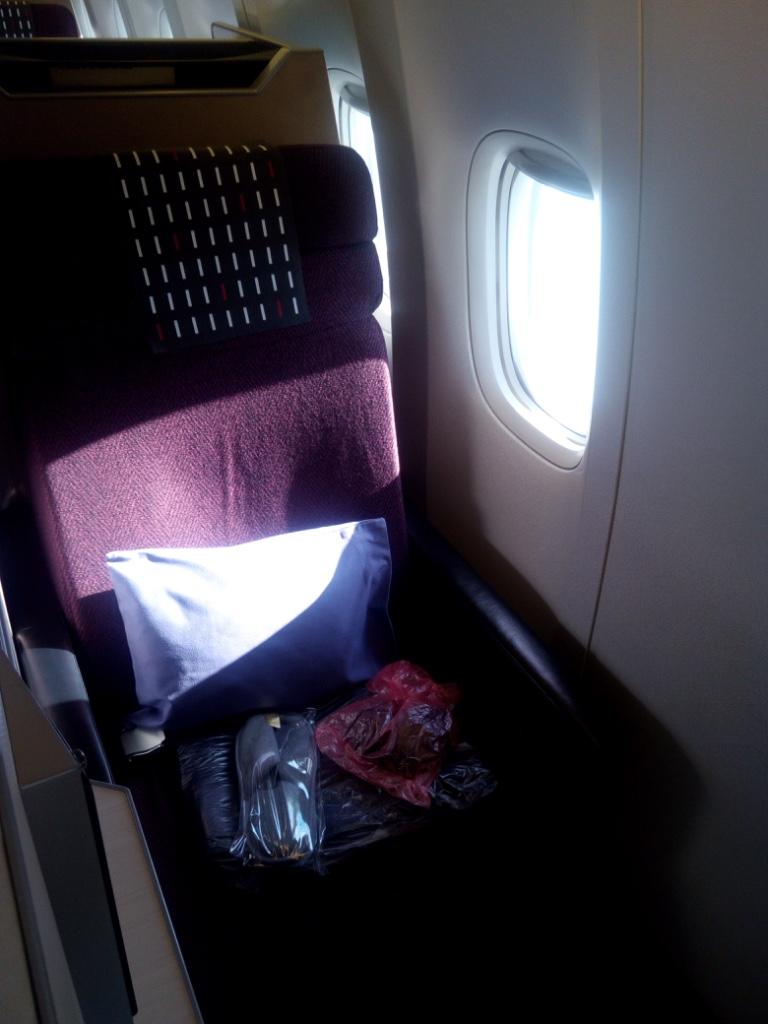 JAL-羽田-香港-ビジネスクラス_ビジネスクラスシート
