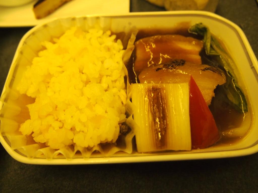 JAL-羽田-香港-ビジネスクラス_機内食メイン