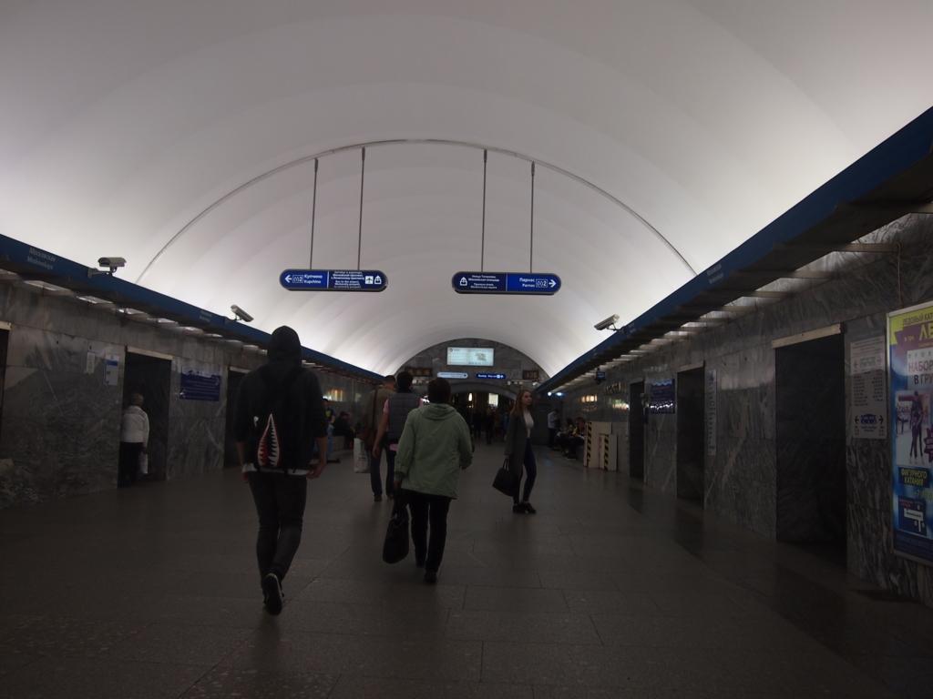 サンクトペテルブルグ-地下鉄構内