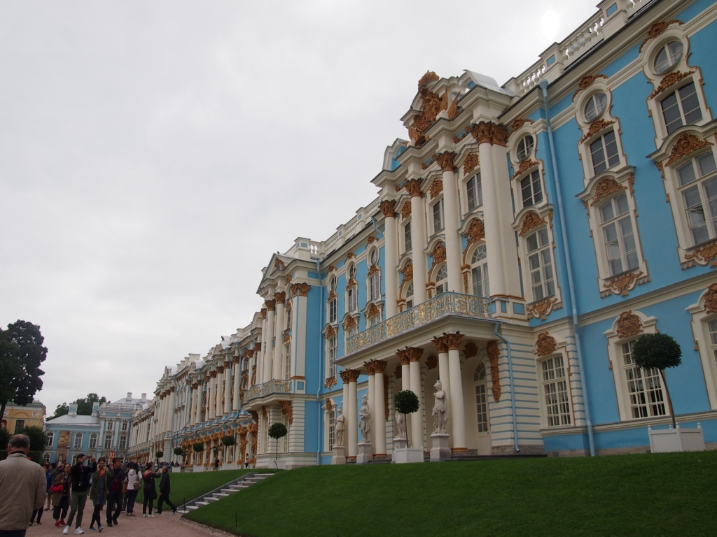 サンクトペテルブルグ-エカテリーナ宮殿