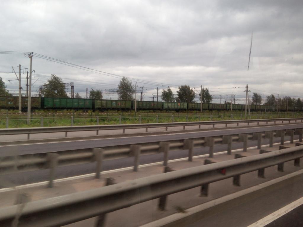 サンクトペテルブルグ-バス移動