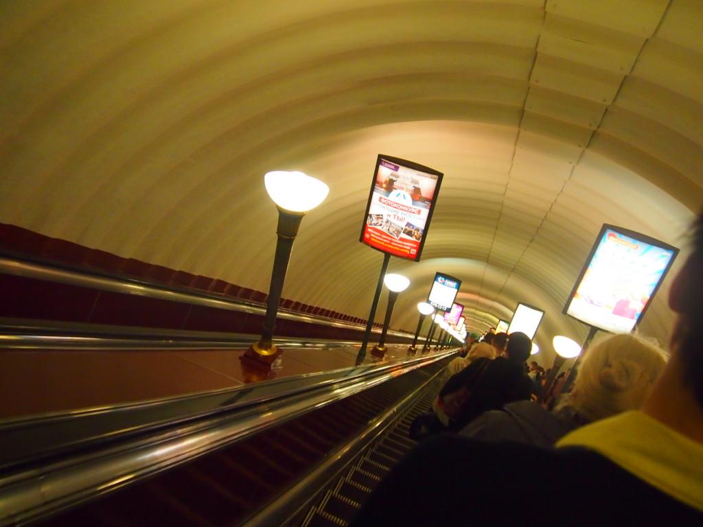 サンクトペテルブルグ-地下鉄