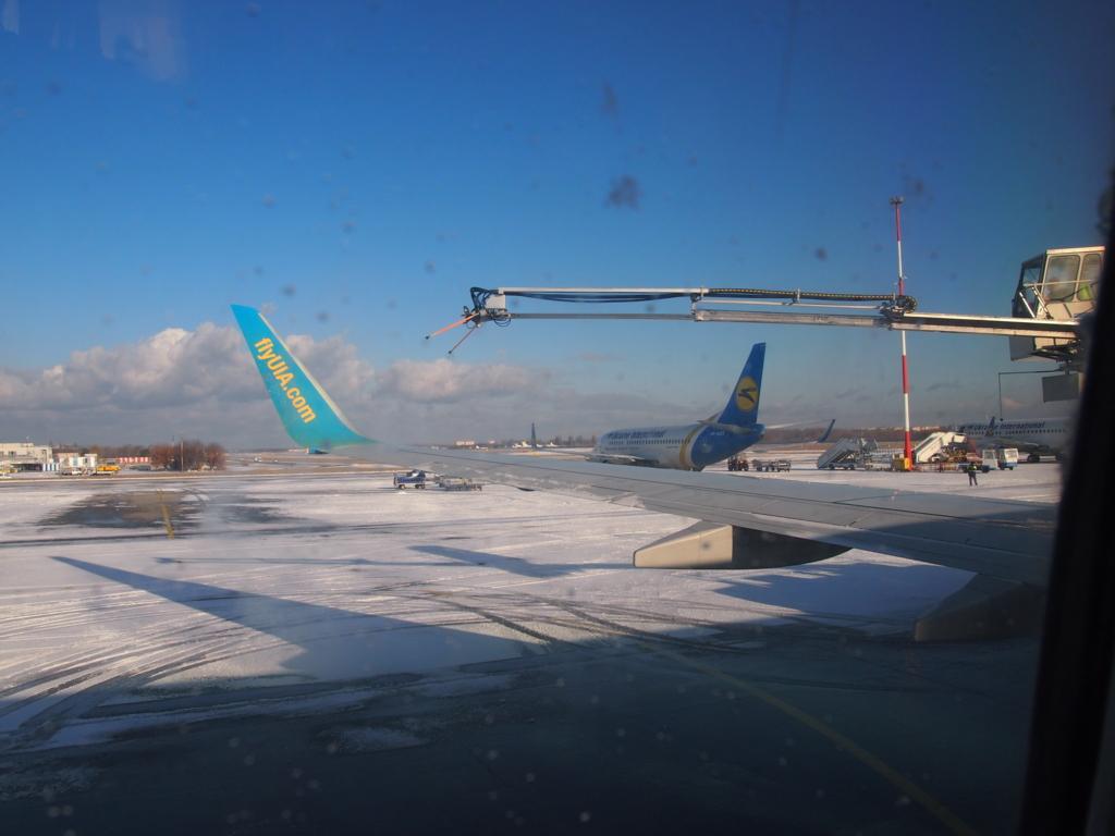 ウクライナ航空-翼の雪