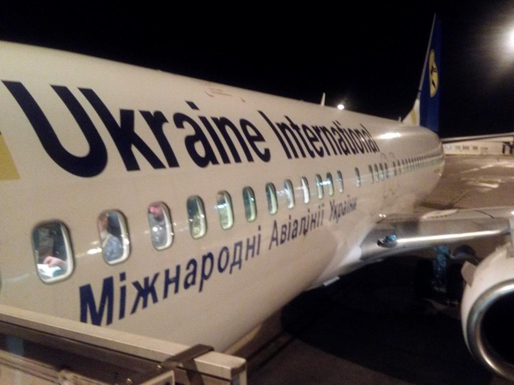 ウクライナ航空-ローマ