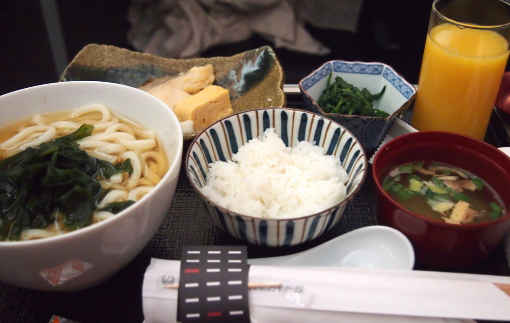 JAL-ビジネスクラス-フランクフルト-朝食