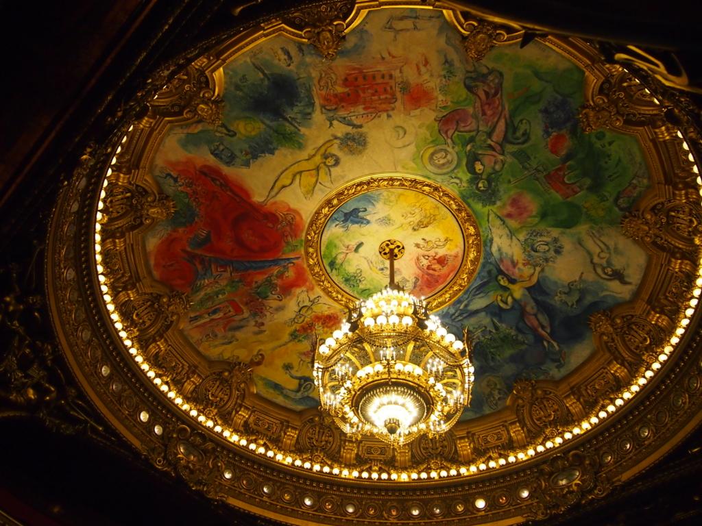 パリ-オペラ座-シャガール