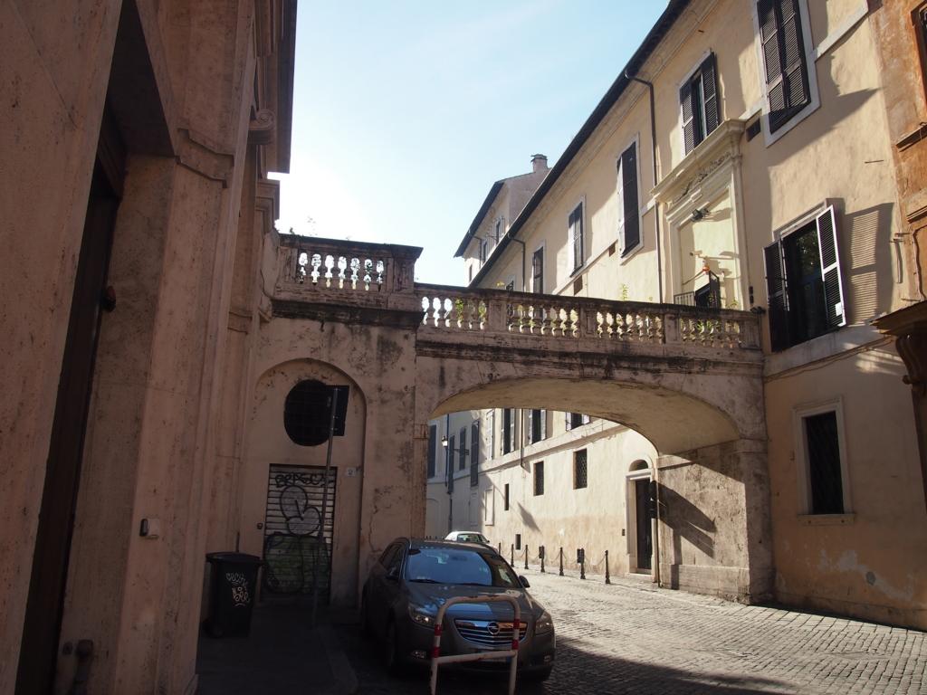 ローマの休日-コロンナギャラリー前