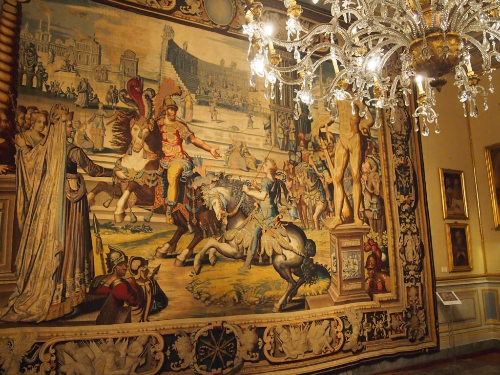 ローマの休日-コロンナギャラリー-タペストリー
