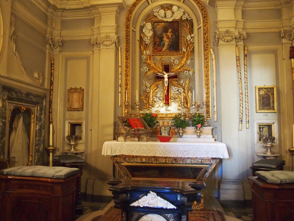 ローマの休日-コロンナギャラリー-礼拝堂