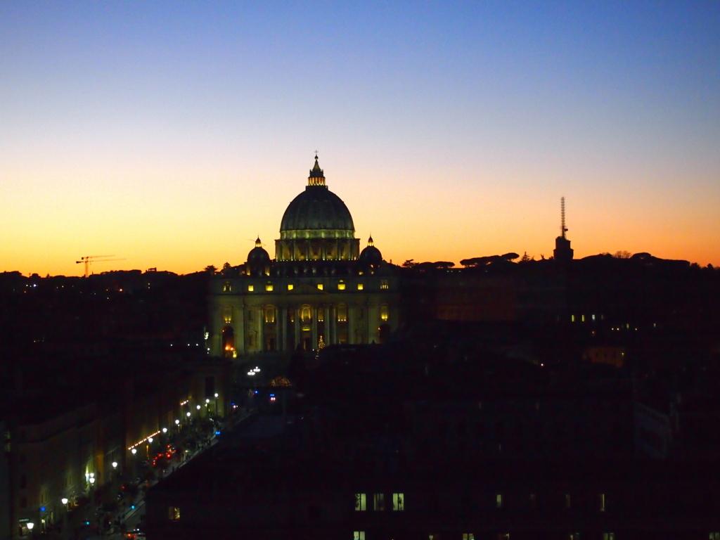 ローマ-サンタンジェロ城-バチカン