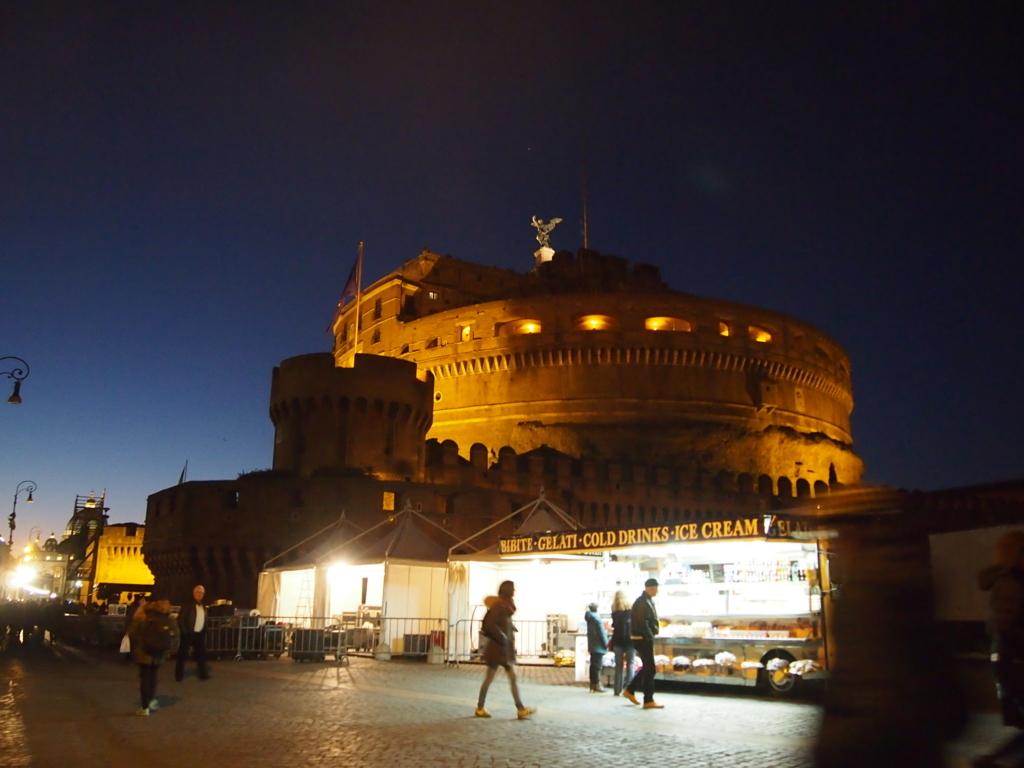 ローマ-サンタンジェロ城