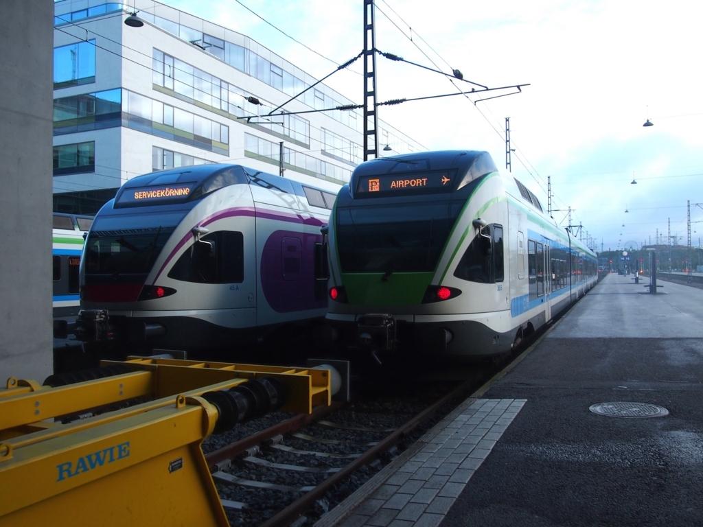 ヘルシンキ中央駅-空港線-車両