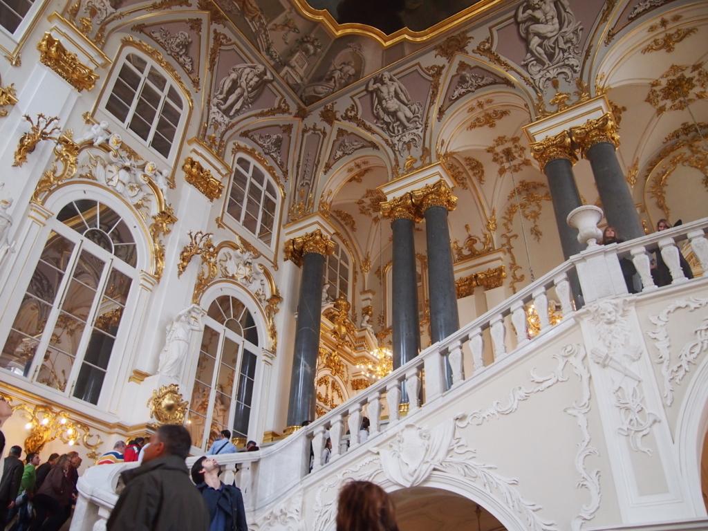 エルミタージュ美術館-天使の階段