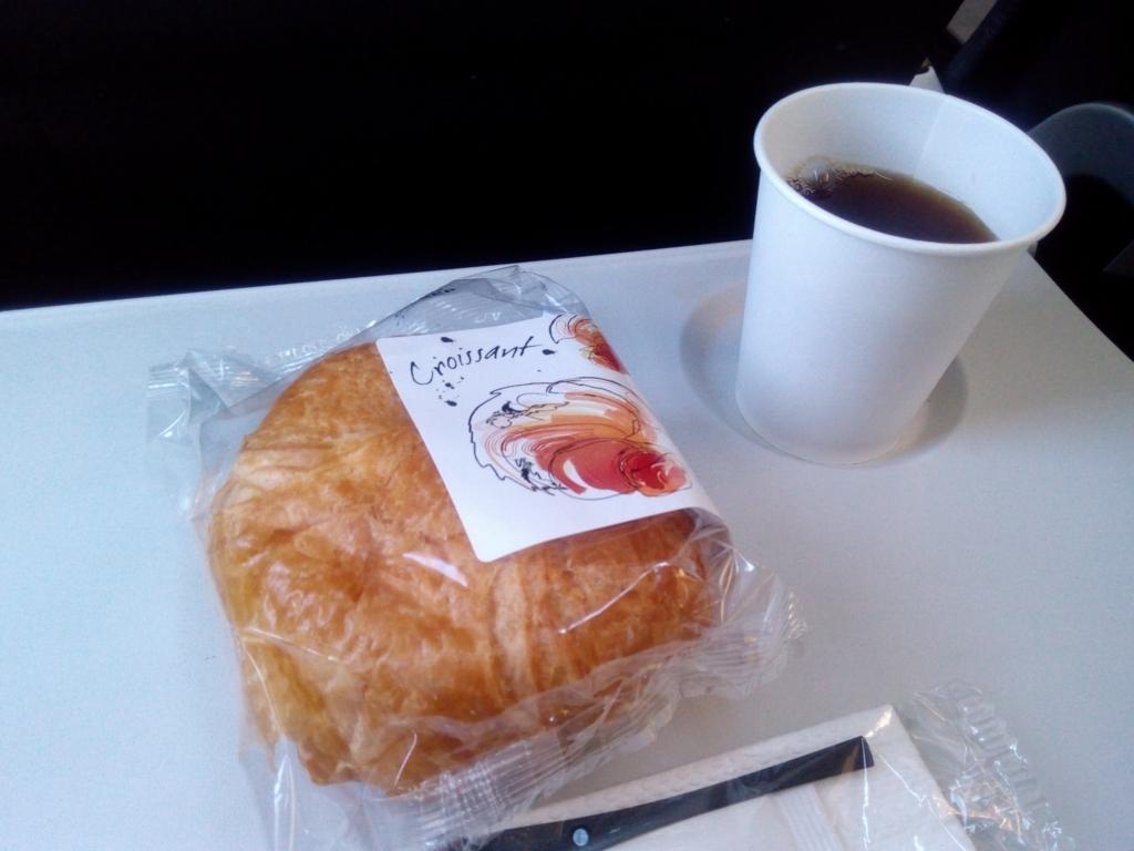 ブリテッィシュエアウェイズ-機内食-パリ-ロンドン