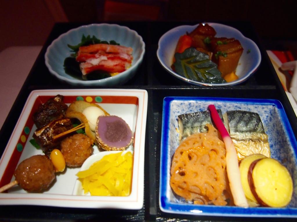海南航空-ビジネスクラス-近距離-機内食