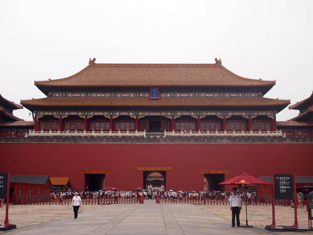 北京-故宮博物院-午門