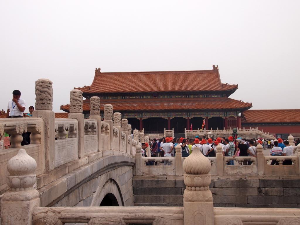 北京-故宮博物院-太和門