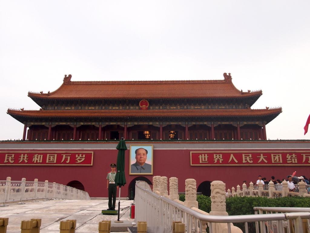 北京-故宮博物院-天安門