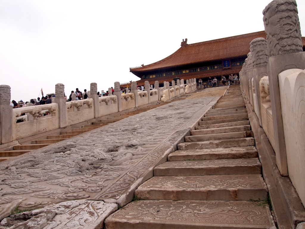 北京-故宮博物院-太和殿-ラストエンペラー