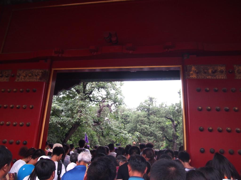 北京-故宮博物院-御花園