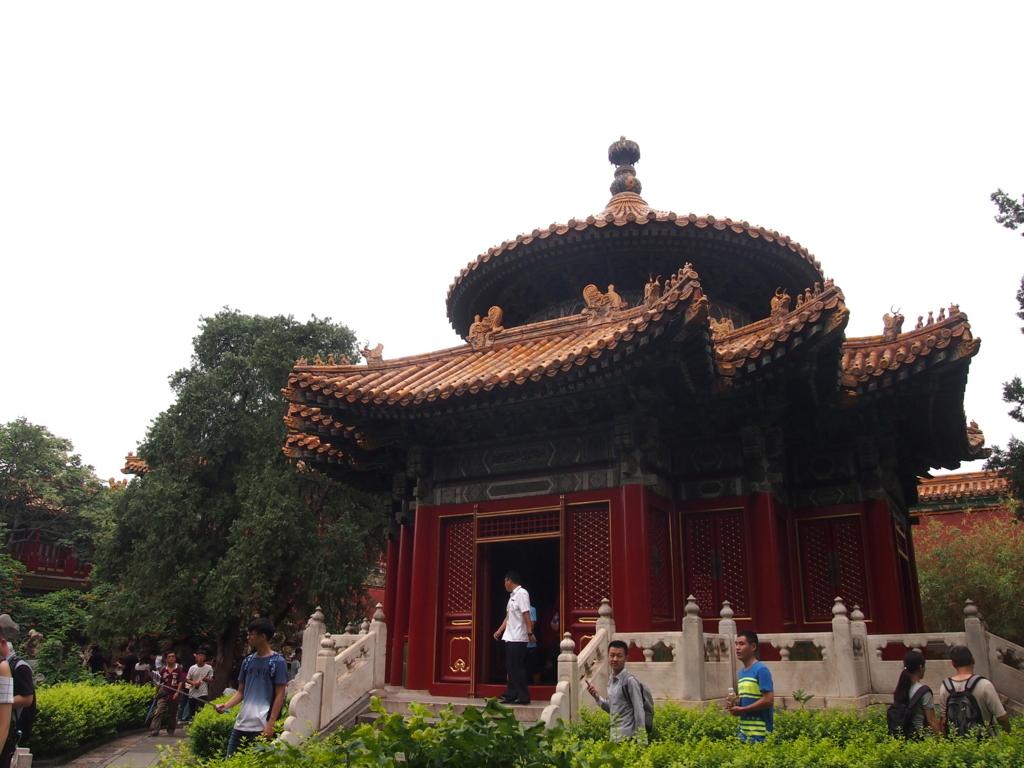 北京-故宮博物院-千秋亭