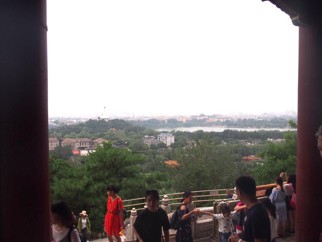 北京_景山公園_万春亭からの景色