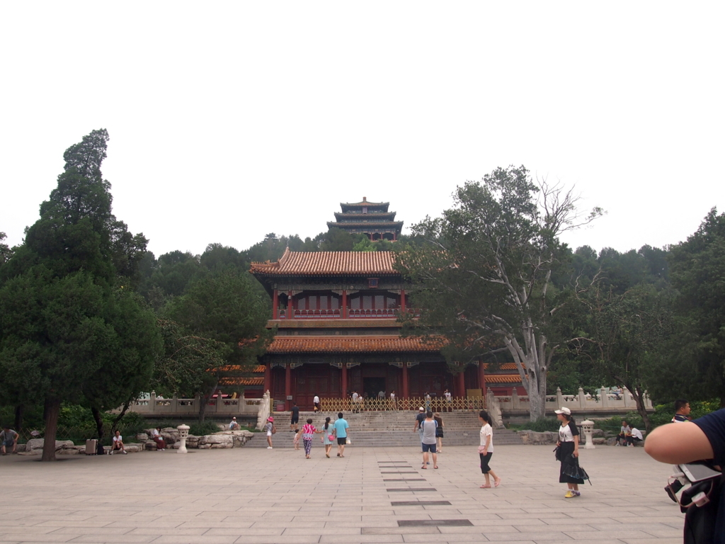 北京_景山公園_入り口