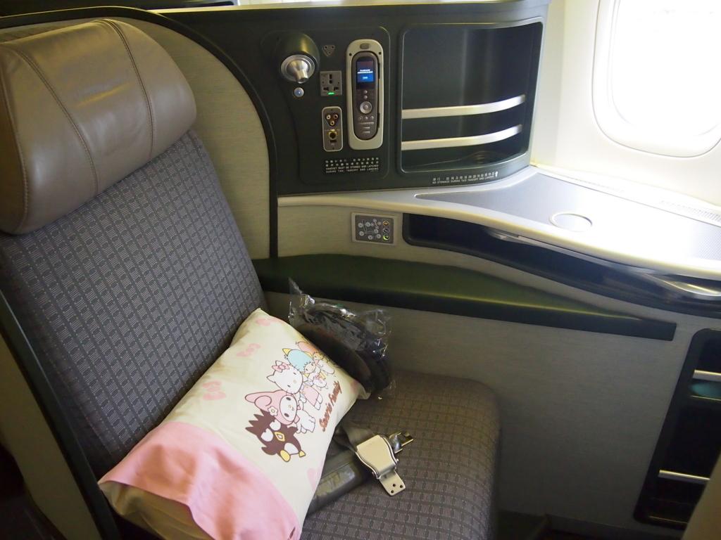 エバー航空-サンリオ-まくら