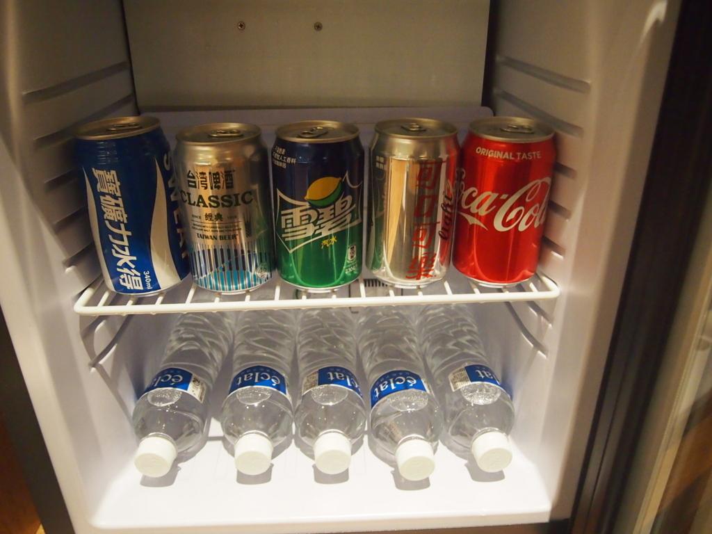 ホテルエクラット台北-冷蔵庫