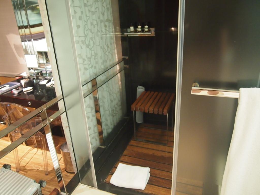 ホテルエクラット台北-シャワー
