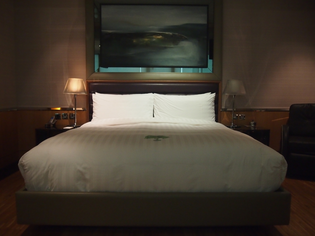 ホテルエクラット台北-ベッド