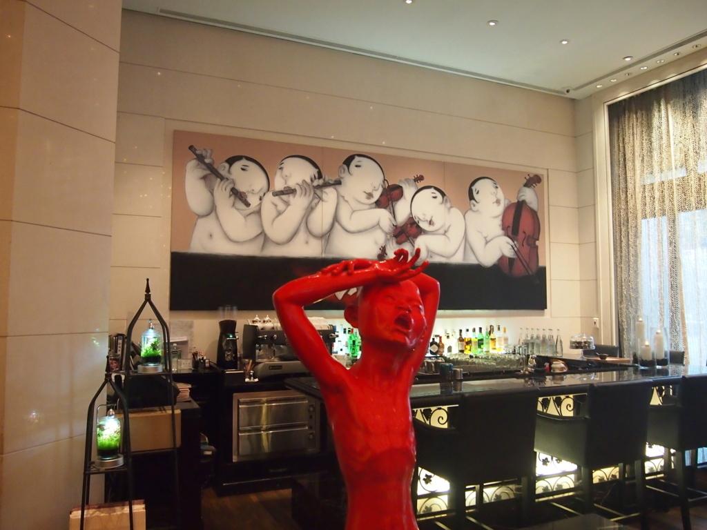 台北-HotelEclat-絵画