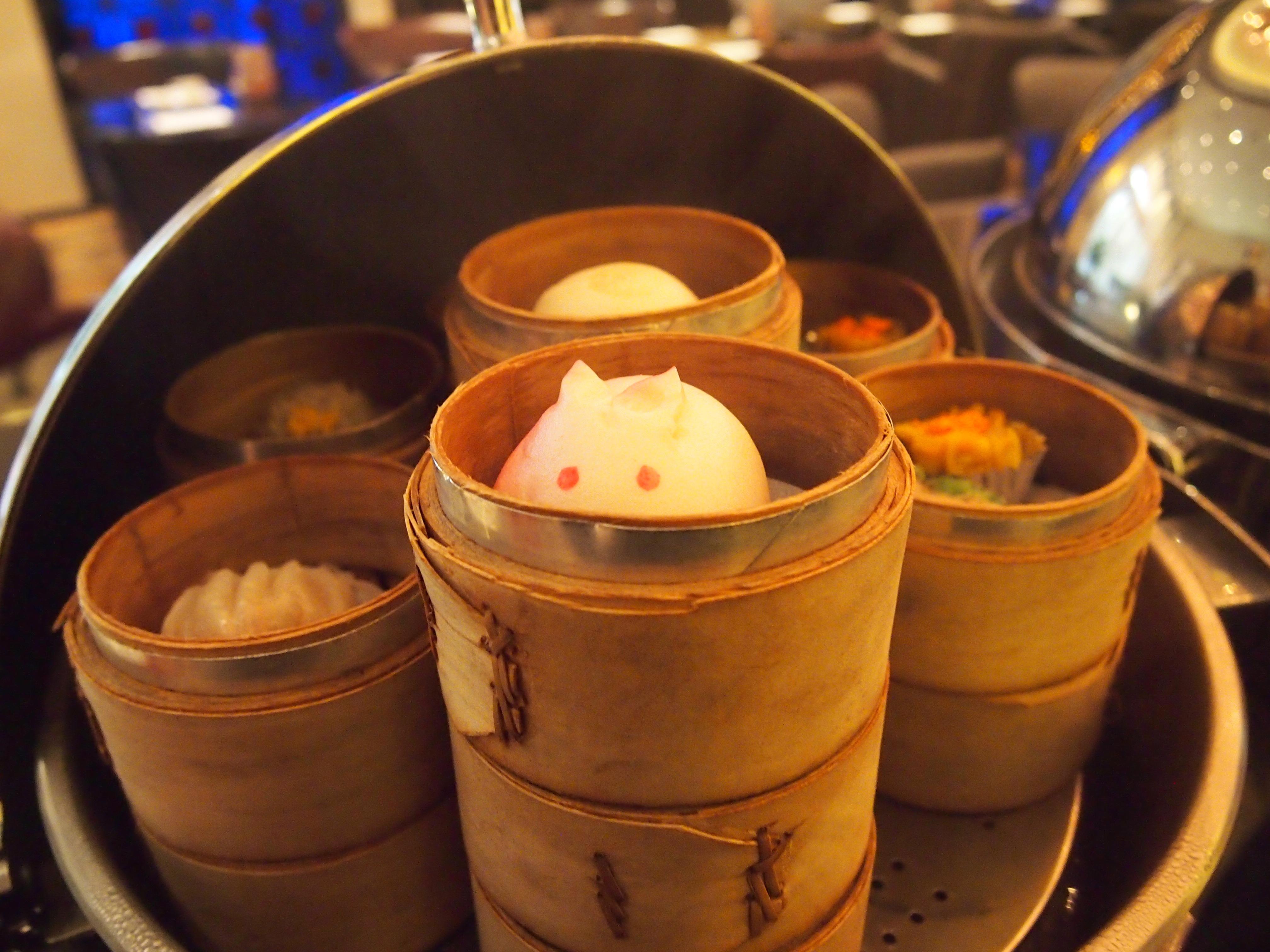 台北-Hotel Eclat-朝食-点心-うさぎ
