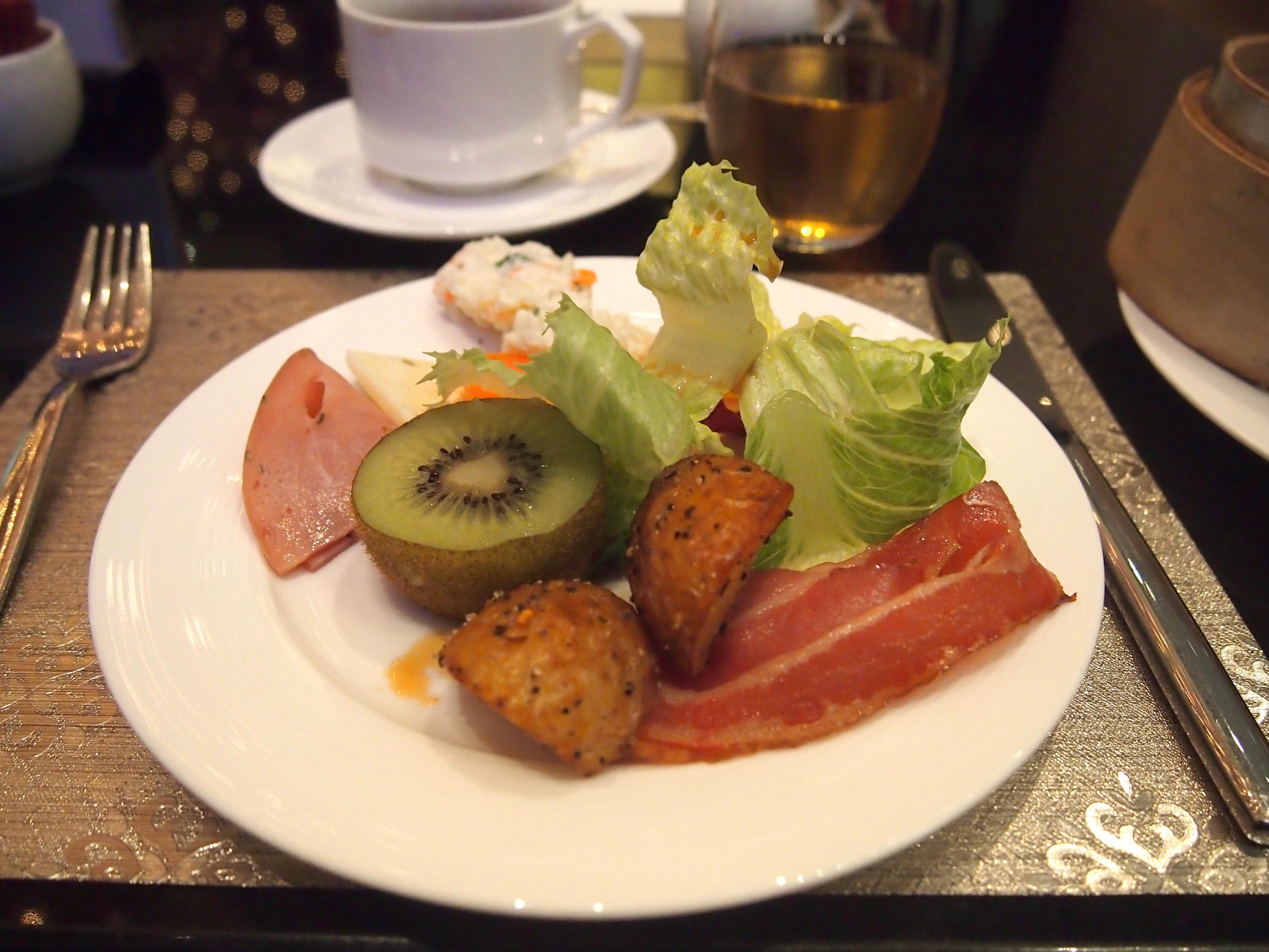 台北-Hotel Eclat-朝食