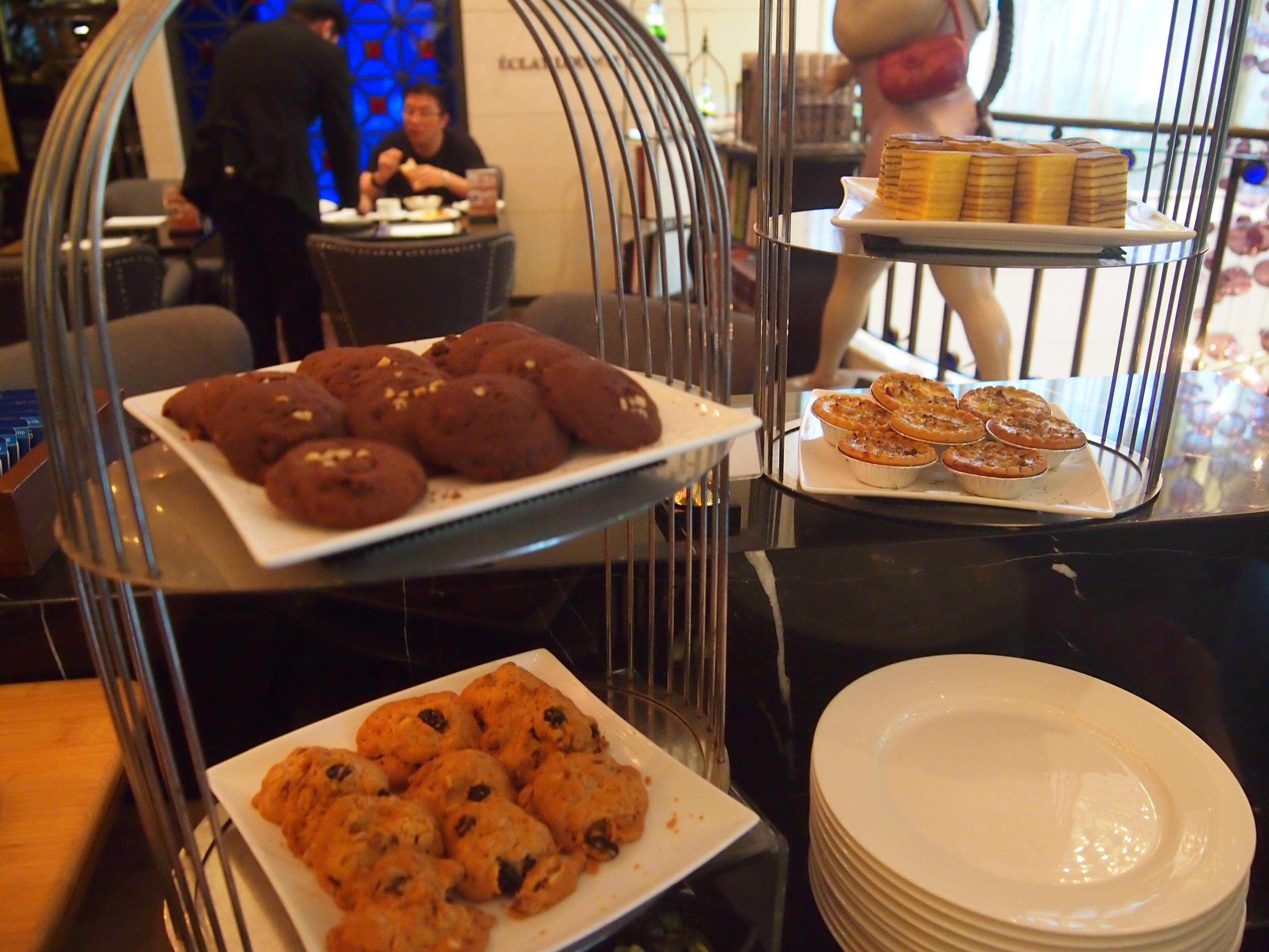 台北-Hotel Eclat-朝食-クッキー