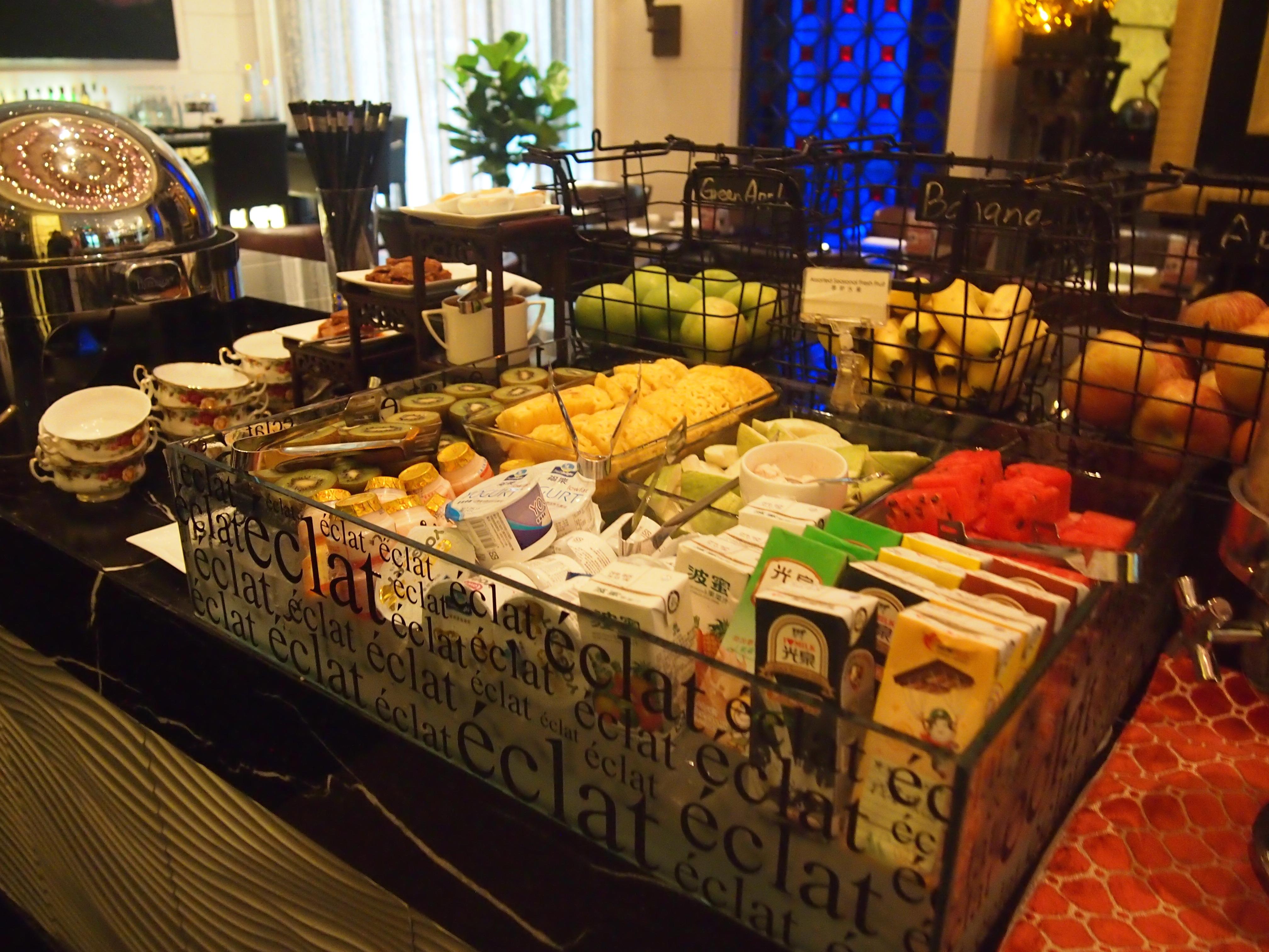 台北-Hotel Eclat-朝食-果物