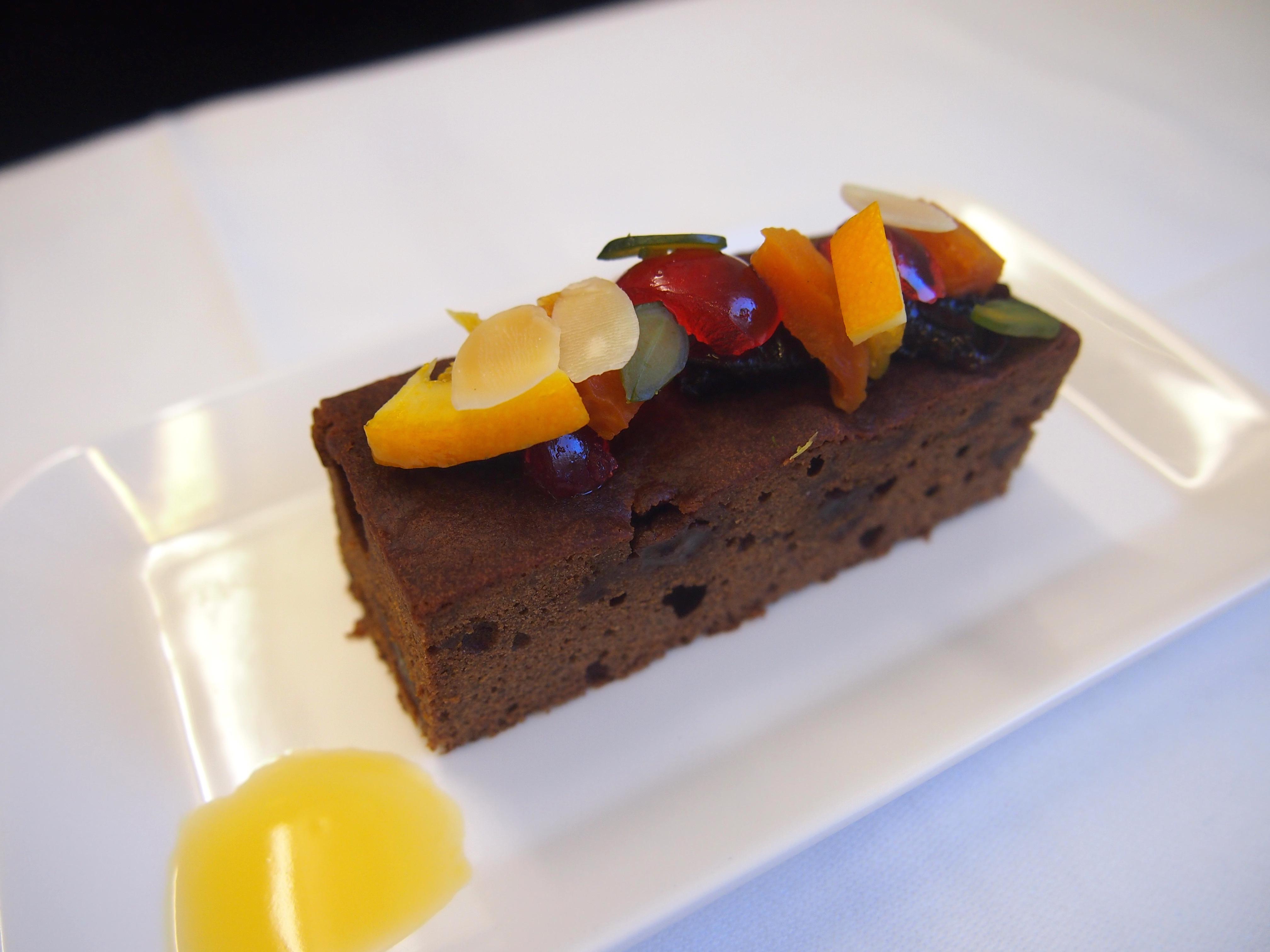 スイス航空-ビジネスクラス-機内食-デザート