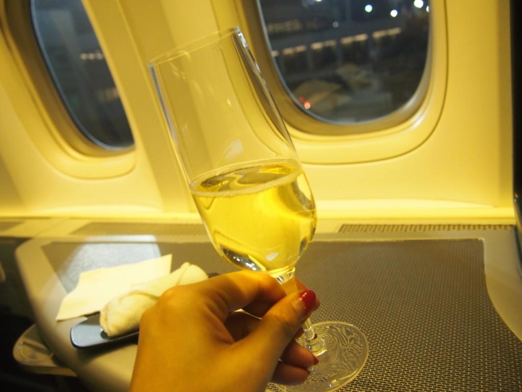 エバー航空-シャンパン